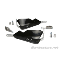 Barkbusters Jet Black Handguards with Two Point Mount
