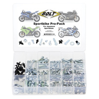Bolt Japanese Sportbike Pro-Pack: Universal Factory Style Spare Hardware Kit USA