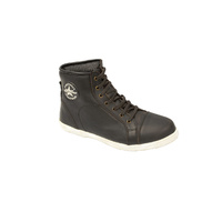 MotoDry Urban Leather Rustic Black Road Boots