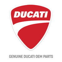 Ducati Genuine Cover Seat Red
