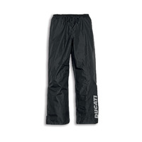 Ducati Genuine Strada 2 Black Rain Pants