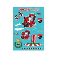 Ducati Genuine Cartoon Sticker Set