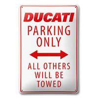 Ducati Genuine Parking Metal Sign
