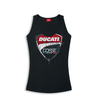 Ducati Genuine Ladies Corse Sketch Singlet