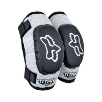 Fox PEEWEE TITAN ELBOW GUARD BlkSil    /OS