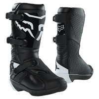 Fox Comp 5Y Youth Black MX Boots