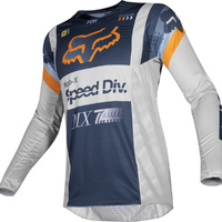 Fox 360 Murc Light Grey MX Jersey