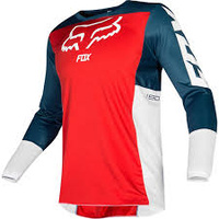 Fox 180 Przm Navy/Red MX Jersey