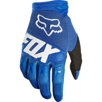 Fox Dirtpaw Race Navy/Yellow MX Gloves