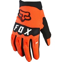 Fox Youth Dirtpaw Race Orange MX Gloves