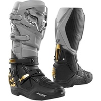 Fox Instinct Grey/Black Adult MX Boots