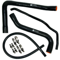 Eazi-Grip Silicone Hose and Clip Kit for BMW S1000RR  black