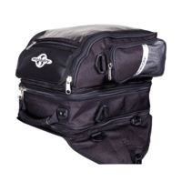 Motodry Triplex Motorcycle Magnetic Tank Bag - Black
