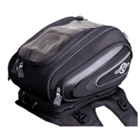 Motodry TourNav Motorcycle Magnetic Tank Bag - Black