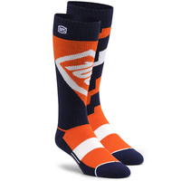 100% Torque Comfort Orange Socks