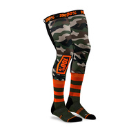 100% Rev Knee Brace Sock Camo