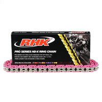RHK Pink 520 Universal HD-X Ring Pro Series Chain - 120 Links