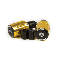 Genuine RHK 'Road' Bar End Cap (Gold) - RHKBEC07G