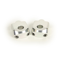 "RHK Silver Universal Standard 7/8"" Bar Mounts"