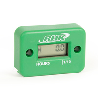 RHK Green Hour Meter - Includes Free Mounting Bracket
