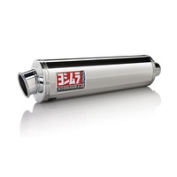 Yoshimura Suzuki DR-Z400S/SM 00-20 RS-3 Stainless Slip-On Exhaust, w/ Stainless Muffler