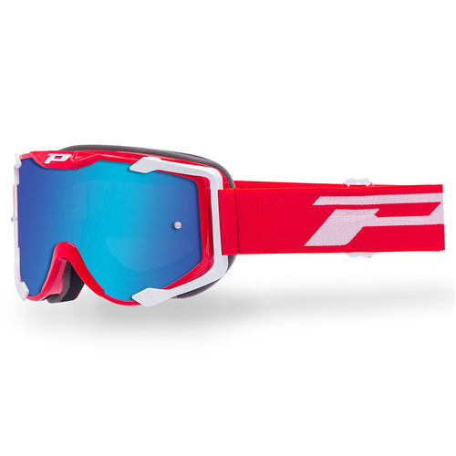 Progrip Menace 3404 Red MX Goggles