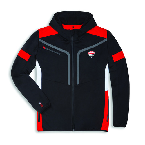 Ducati Genuine Corse Power Hooded Jumper [Size: X-Small]